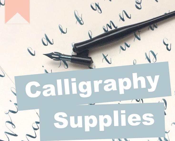 Calligraphy Supplies List