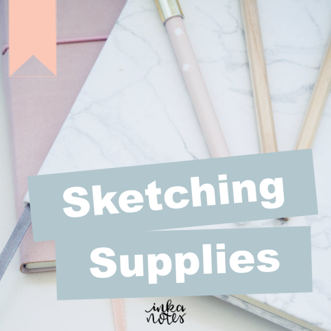 sketching_Supplies_inkanotes_Watercolour_Calligraphy_Artist