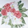 Calligraphy_Supplies_inkanotes_Watercolour_Calligraphy_Artist-Custom_Watercolour_Painting_Monogram_Florals-Wedding_keepsake_gift_bouquet