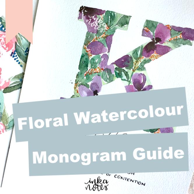 Custom-floral-monogram-guide_inkanotes_Watercolour_Calligraphy_Artist
