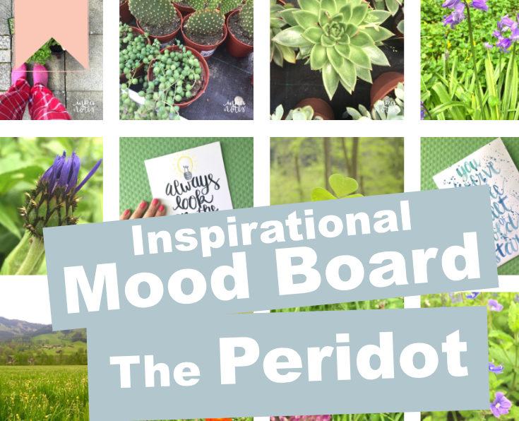Inspirational Mood Board: August Birthstone – Peridot