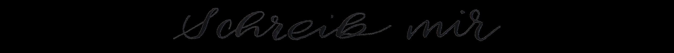 schreib mir-Kalligraphie Aquarell Künstler Ernährung Blumen und Botanische Illustrationen Deutschland Nachhaligkeit & Ökologisch