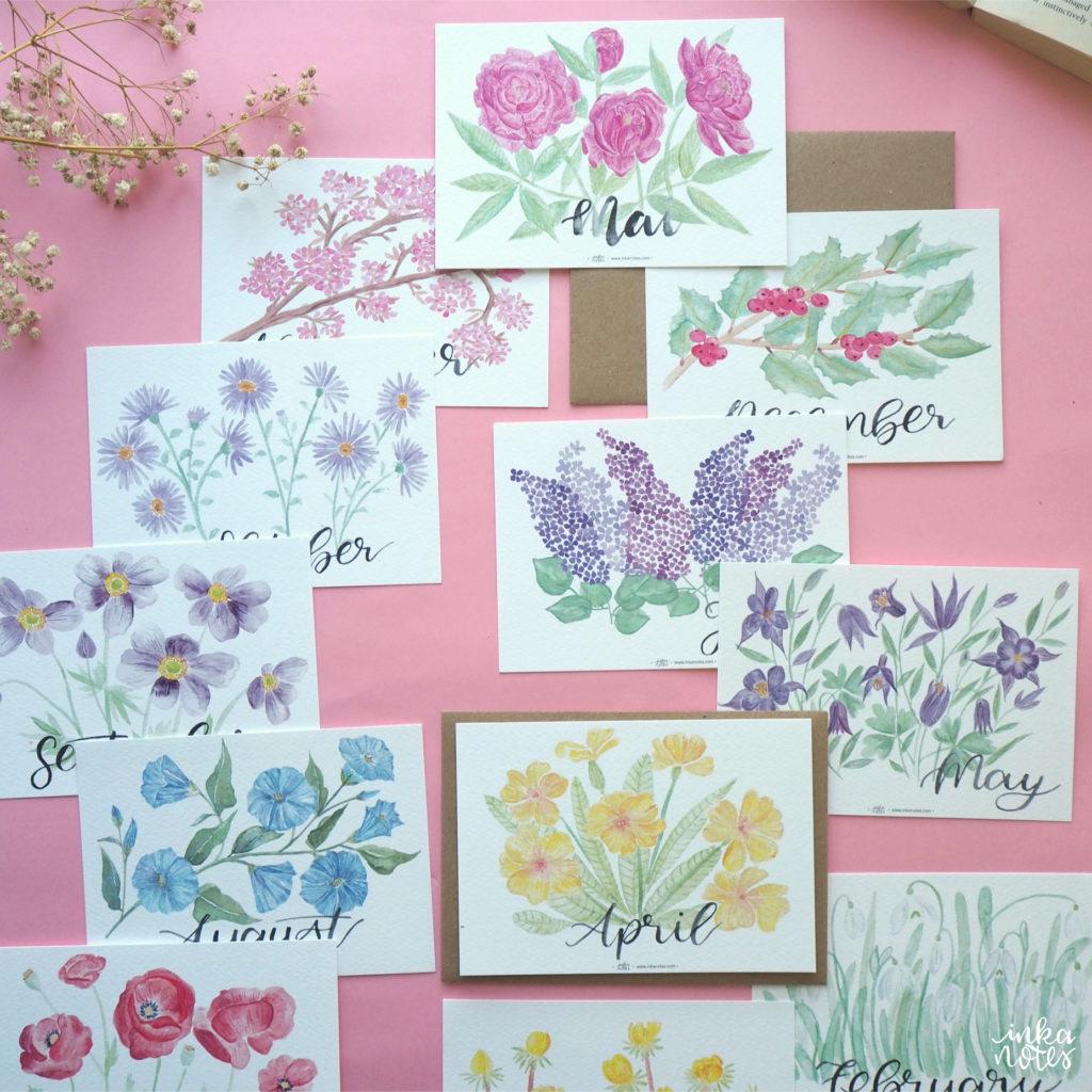 papeterie-inkanotes-Calligraphy-Kalligraphie-Watercolor-Aquarell-Florals-Botanicals-Blumen-Botanische-Designer-Deutschland-Germany-Nachhaltig-Ecofriendly